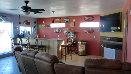 Custom homes tucson az room additions tucson az for Garage game room